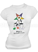 Order of the Eastern Star Mother of All Screen Printed T-Shirt, White