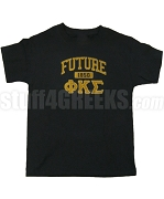 Future Phi Kappa Sigma Screen Printed T-shirt, Black