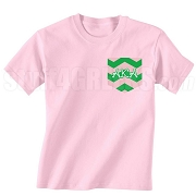 AKA Chevron Faux Pocket Screen Printed T-shirt
