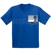 Kappa Kappa Psi Kid Faux Pocket Screen Printed T-Shirt
