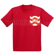SAI Chevron Faux Pocket Screen Printed T-shirt