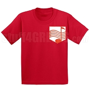 SAI Music Bar Faux Pocket Screen Printed T-shirt