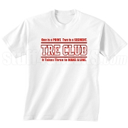 Tre Club (Gen1) Screen Printed T-Shirt, White