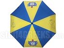 Sigma Gamma Rho Auto Open Golf Umbrella with Shield and Poodle, Royal Blue/Gold (NS)