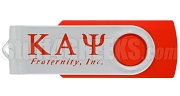 Kappa Alpha Psi 4G USB Flash Drive with Greek Letters, Red