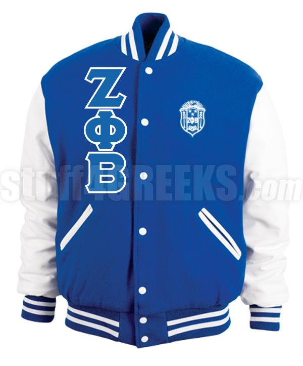Zeta Phi Beta Letterman Jacket 17