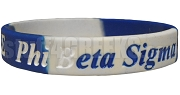 Phi Beta Sigma Wrist Band