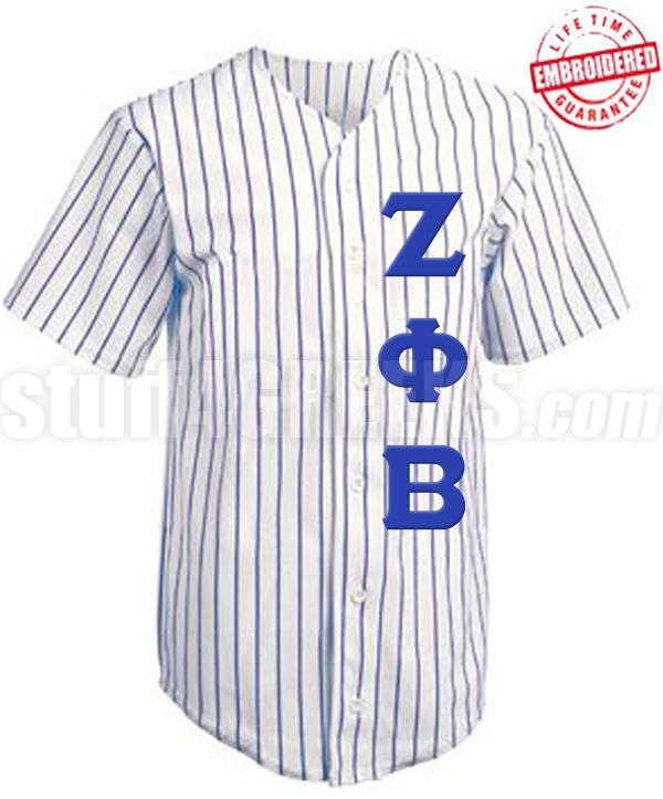 Zeta Phi Beta Letters Baseball Jersey Iwcu5Q