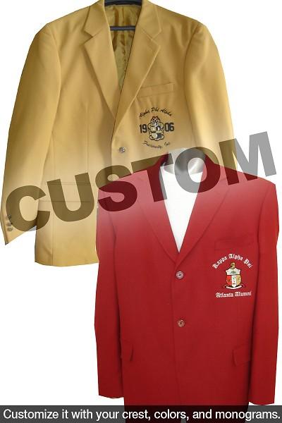 Custom Mens Fraternity Blazer
