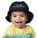 Custom Embroidered Baby Bucket Hat