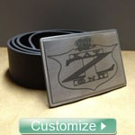 Custom Stainless Steel Belt Buckle (Buckle Only Unless Specified)