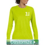 Custom Fitted Athletic Long Sleeved Perforamce T-shirt
