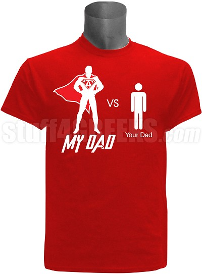 "Adult Screen Printed Kappa Alpha Psi ""My Dad vs Your Dad"" Tee"