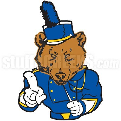 Marching Band Bear Icon