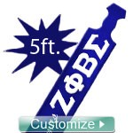 NEW! 5 Ft. Custom Glossy Paddle - 5 Feet Tall