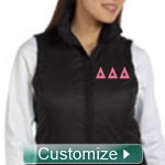 Custom Women's Embroidered Ski Vest