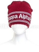 Kappa Alpha Psi Reversible Beanie Hat with Organization Name (SAV)
