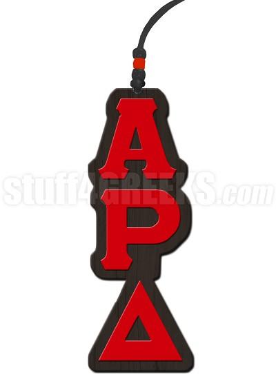 Alpha Rho Delta Greek Letter Tiki Necklace