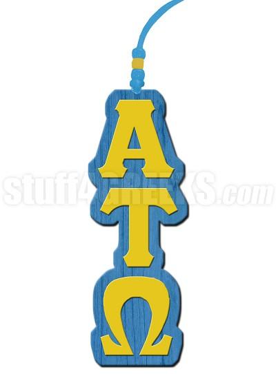 Alpha Tau Omega Greek Letter Tiki Necklace