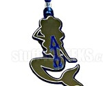 Lambda Tau Omega Mermaid Tiki Necklace