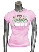 Alpha Kappa Alpha For Obama T-Shirt, Pink