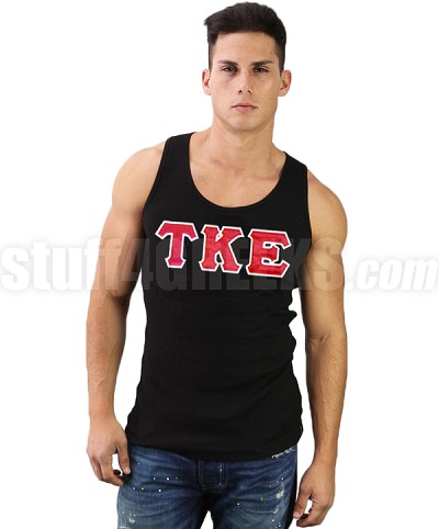 Custom Embroidered Fraternity Tank Top