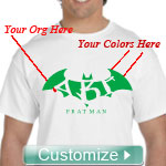 Custom Fratman Screen Printed T-Shirt
