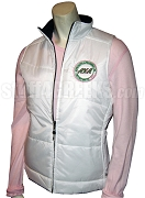 White Alpha Kappa Alpha First and Finest Ski Vest