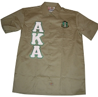 AKA Dickies Shirt, Khaki