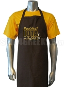Baddest Iota on the Grill Apron