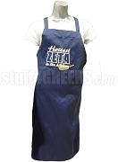 Zeta Phi Beta Hottest Zeta in the Kitchen Apron, Royal Blue