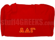 Alpha Delta Gamma Duffel Bag, Red