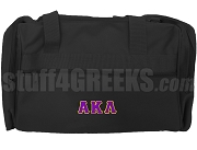 Alpha Kappa Lambda Duffel Bag, Black