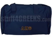 Alpha Kappa Psi Duffel Bag, Navy Blue