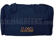 Alpha Nu Omega Duffel Bag, Navy Blue
