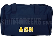 Alpha Omega Nu Duffel Bag, Navy Blue