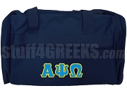 Alpha Psi Omega Duffel Bag, Moonlight Blue