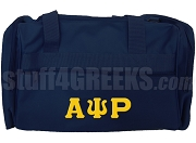 Alpha Psi Rho Duffel Bag, Navy Blue