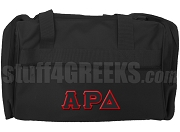 Alpha Rho Delta Duffel Bag, Black