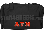 Alpha Tau Mu Duffel Bag, Black