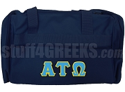 Alpha Tau Omega Duffel Bag, Navy Blue