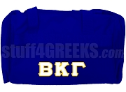 Beta Kappa Gamma Duffel Bag, Royal Blue