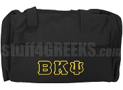 Beta Kappa Psi Duffel Bag, Black