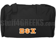 Beta Psi Chi Duffel Bag, Black