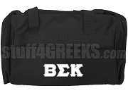 Beta Sigma Kappa Duffel Bag, Black