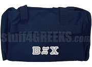 Beta Xi Chi Duffel Bag, Navy Blue