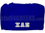 Chi Alpha Epsilon Duffel Bag, Royal Blue