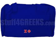 Chi Phi Duffel Bag, Royal Blue