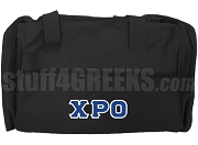 Chi Rho Omicron Duffel Bag, Black