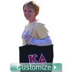 Custom Embroidered Sorority Tote Bag